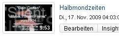 """""""Halbmondzeiten"""" - Programm Demo. Lyrik & Piano."""