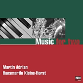 "CD ""Music for two"" Piano & Saxophon"