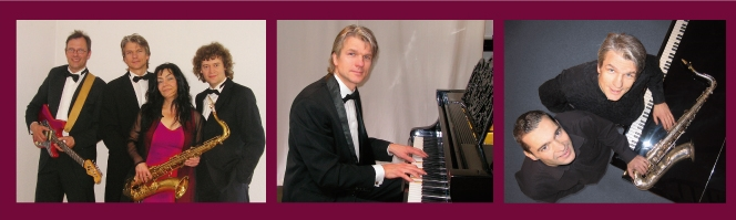 Livemusik mit Hansmartin Kleine-Horst - Solo Piano / Duo mit Saxophonist und Sängerin / Tanzband